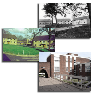 Hawthorns building seen through the years